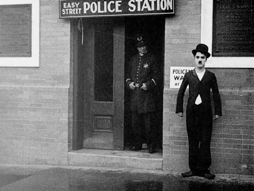 a review of charlie chaplin by mordaunt hall Essanay film company charlie chaplin's first and only movie made entirely in chicago was his new job movie review a railroad thriller by mordaunt hall.